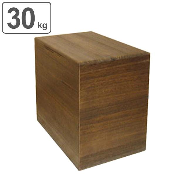 米びつ 桐製 30kg 焼桐 ( 送料無料 米櫃 ライスボックス ライスストッカー 30kg用 30キロ 桐 和風 桐製米びつ お米 収納 キッチン収納 ストッカー 保存 キッチン こめびつ ) 【5000円以上送料無料】