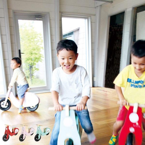 バランスバイク 大型玩具 ライドオンスクーター 木製 組立式 子供用 おもちゃ ( 送料無料 乗物玩具 乗用玩具 子ども用おもちゃ 木製玩具 ランニングバイク こども用 子ども用 玩具 トレーニング用自転車 バイク スクーター ) 【5000円以上送料無料】