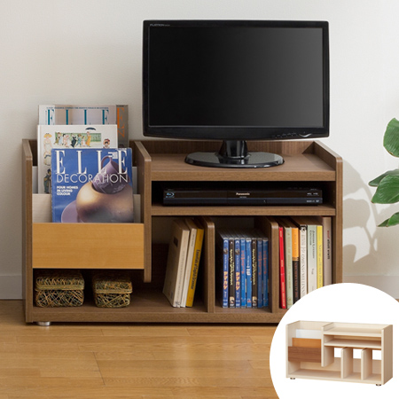 TV Stand Bookcase Bookshelf Marche Height 46 Cm Approx Width 85 Magazine Rack AV Board Small Display Storage Shelf Picture Book
