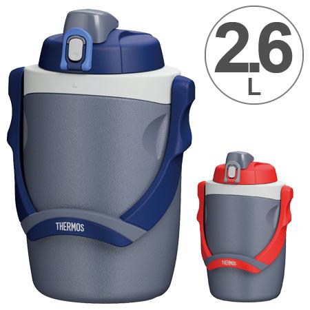 水壶膳魔师(thermos)supotsujagu 2.6L保冷FPG-2600(喝附带保冷大容量轻量方向盘的体育瓶,问的公升)abcdefg