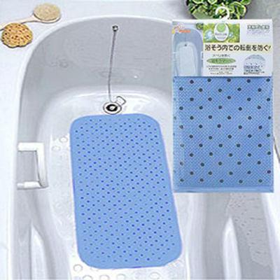 スベリを防ぐ浴槽マット