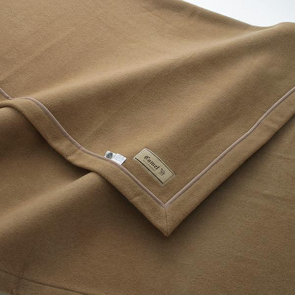 最高級キャメル毛布 シングル 140×200cm ベージュ ( 送料無料 ブランケット 掛け毛布 布団 寝具 ) 【39ショップ】