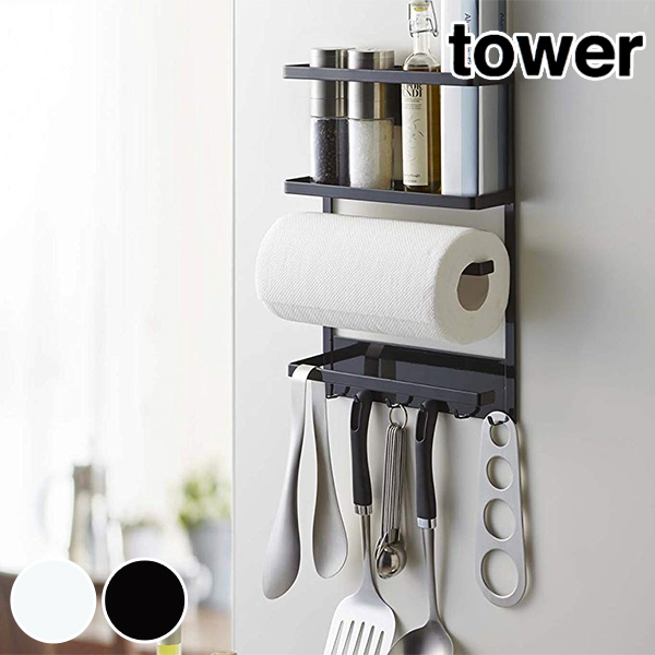 Product made in kitchen tool rack magnet type tower tower refrigerator side  rack steel (magnet kitchen drawer tool rack refrigerator side magnet type  ...