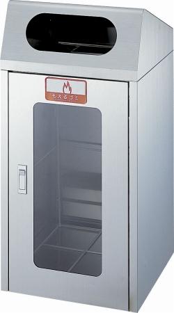 ゴミ箱 リサイクルボックス CS-1ST 1面窓付き 送料無料 【5000円以上送料無料】