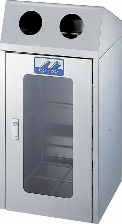 ゴミ箱 リサイクルボックス CS-2ST 1面窓付き 送料無料 【5000円以上送料無料】