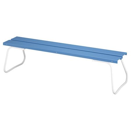 樹脂製ベンチ 背なし 180cm ( 送料無料 公園 ガーデン 椅子 ) 【5000円以上送料無料】