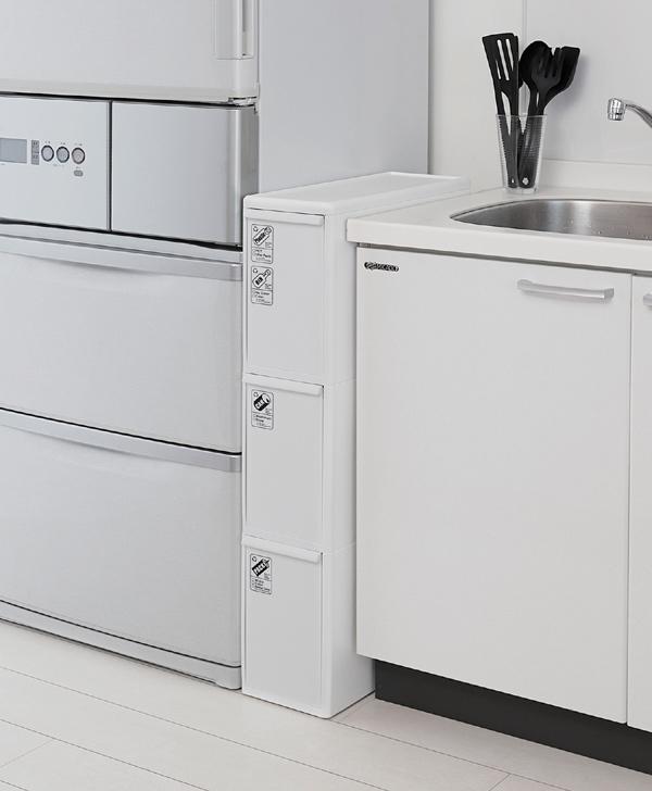 Garbage Bin Drawer PlayStation Slim 3 42 L (dust Box Kitchen Trash Bin Slim  Trash Bin Fractionation Wastebasket Dust BOX)