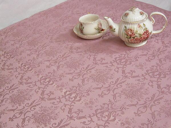 テーブルクロス 撥水サイズ約140×200cmクラシカルデザイン ジャガード織ダマスク532P17Sep16