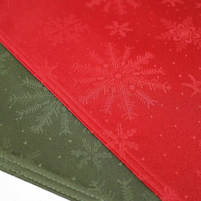 激安超特価 クリスマスのテーブルコーディネートに 登場大人気アイテム クリスマス ランチョンマット 洗えますルージュは入荷の予定はありません 33×47cm撥水性 クリスタル