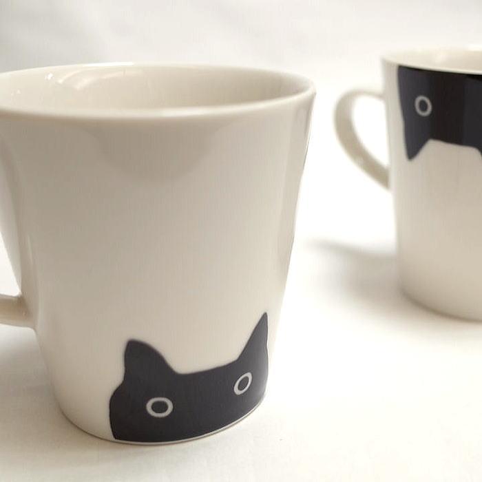 またのあつこマタノアツコ またのあつこマタノアツコATSUKO MATANO マグカップ黒猫マグカップ 限定タイムセール 特別セール品