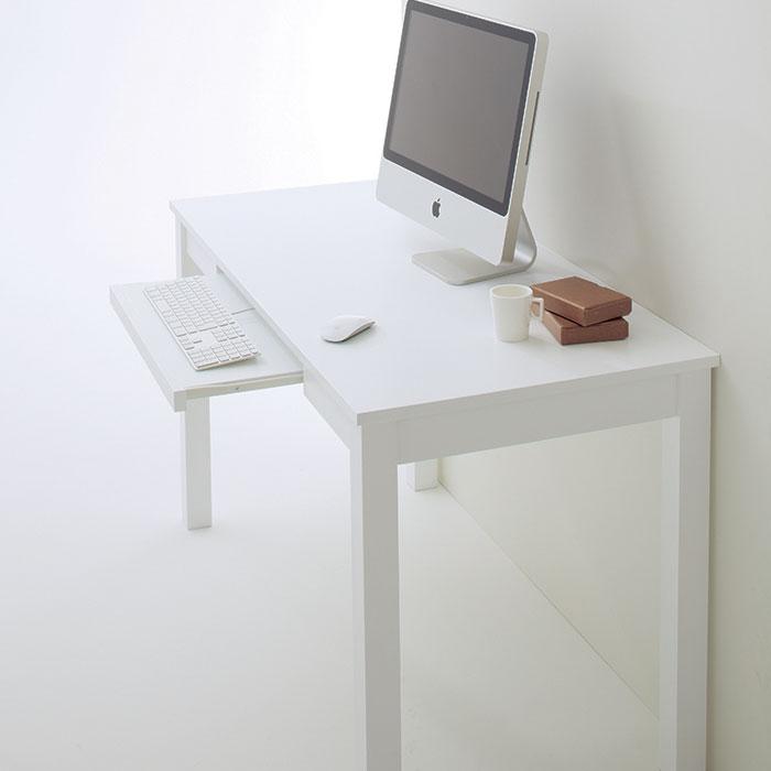 チェリーファニチュア デスク オフィス PC 机 白 ブラウン SD-637【代引き不可】