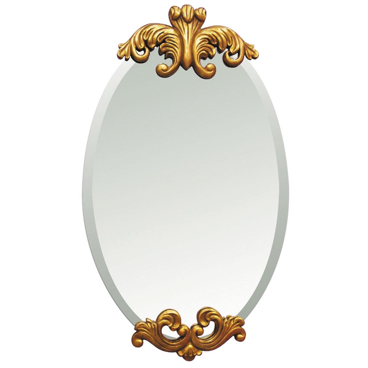 ウォールミラー プラド 壁掛け 鏡【代引き不可】