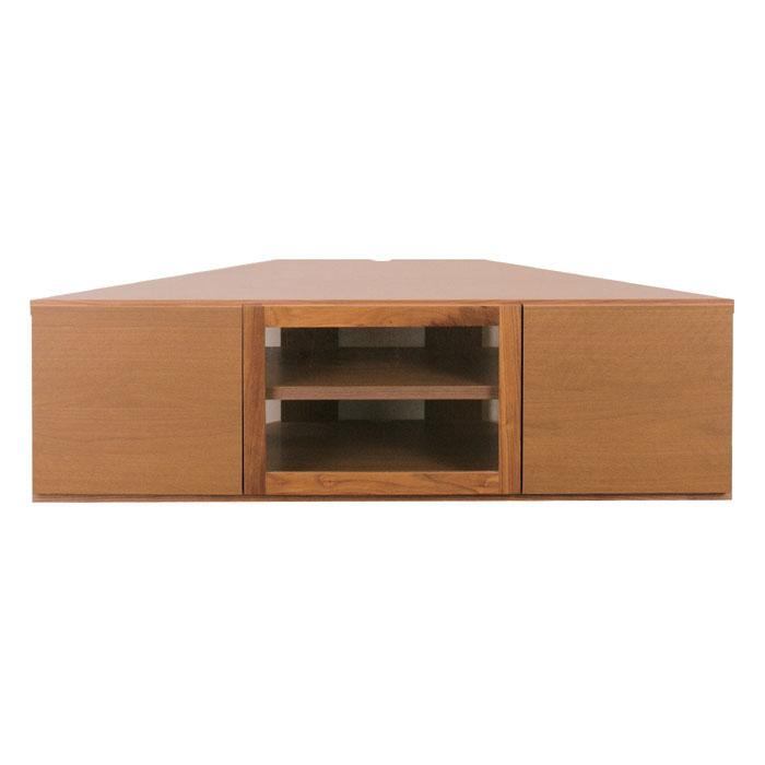 レグナテック アンゴロ 130 コーナー TVボード テレビボード ローボード 木製 国産 天然木 幅130 【一部地域開梱設置無料】【代引き不可】