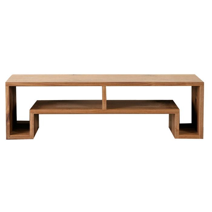 レグナテック ノード 120 リビングテーブル ウォールナット 無垢【一部地域開梱設置無料】【代引き不可】