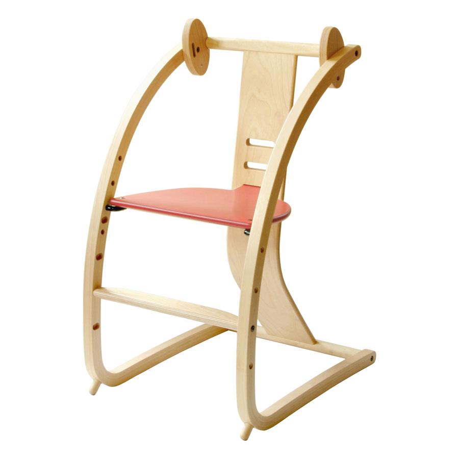 """Toshimitsu Sasaki, made in Japan Japanese kids Chair highchair Baby Chair Chair highchair high chair Designer design babychair BAMBINI """"Bambini]"""