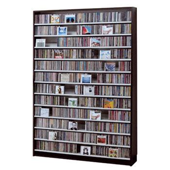 CDストッカー 薄型 CD DVD ラック 壁面収納 日本製 CS1668【代引き不可】