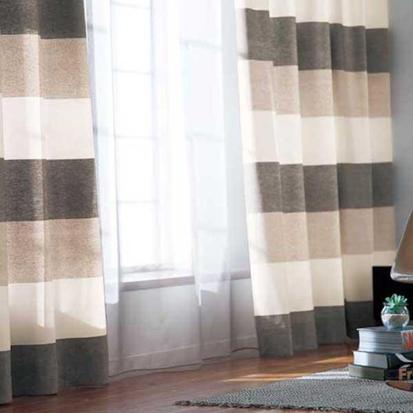 カーテン プレーンシェード アスワン セラヴィ C'estlavie LIVE NATURAL E7061 スタイリッシュウェーブ縫製 約2倍ヒダ