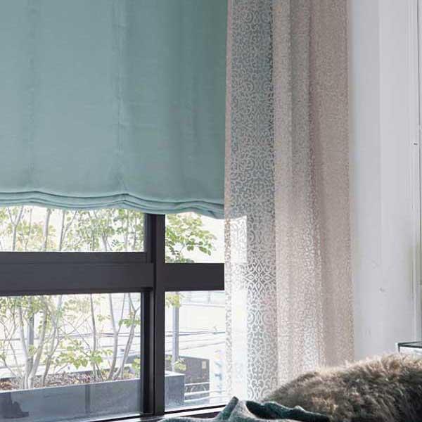 カーテン プレーンシェード アスワン セラヴィ C'estlavie Shakou E7156~7159 スタイリッシュウェーブ縫製 約1.5倍ヒダ