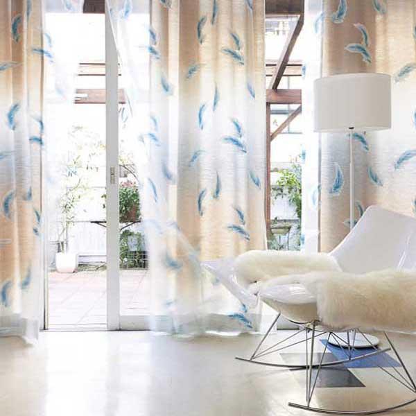 カーテン プレーンシェード アスワン セラヴィ C'estlavie Design Lace E7206 スタイリッシュウェーブ縫製 約1.5倍ヒダ