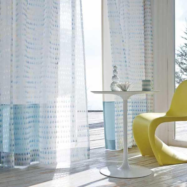 カーテン プレーンシェード アスワン セラヴィ C'estlavie Design Lace E7208~7209 スタイリッシュウェーブ縫製 約2倍ヒダ