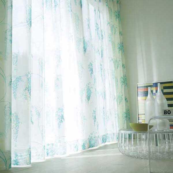 カーテン プレーンシェード アスワン セラヴィ C'estlavie Design Lace E7210 スタイリッシュウェーブ縫製 約1.5倍ヒダ