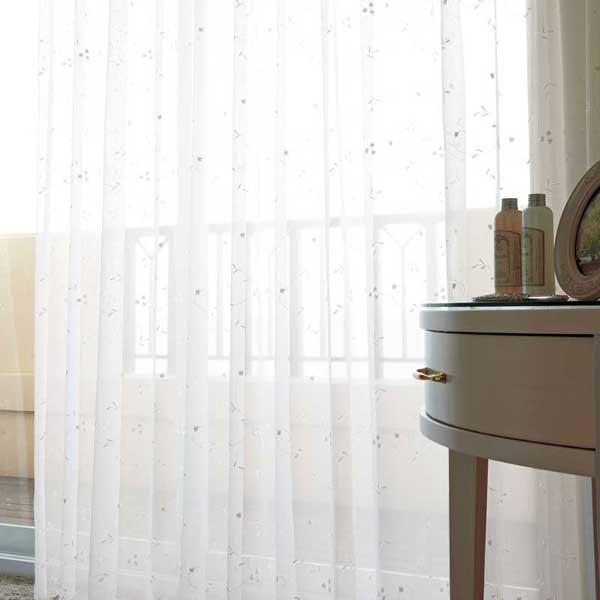 カーテン プレーンシェード アスワン セラヴィ C'estlavie Design Lace E7219ハイグレード縫製 約2倍ヒダ