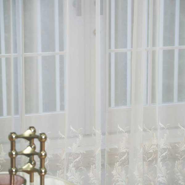 カーテン プレーンシェード アスワン セラヴィ C'estlavie Design Lace E7221ハイグレード縫製 約1.5倍ヒダ