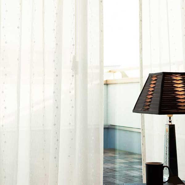 カーテン プレーンシェード アスワン セラヴィ C'estlavie High Spec Lace E7258 ハイグレード縫製 約1.5倍ヒダ