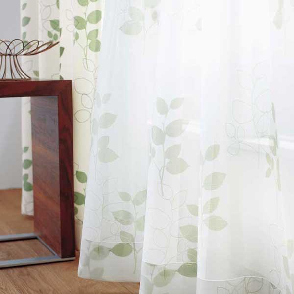 カーテン プレーンシェード アスワン セラヴィ C'estlavie High Spec Lace E7265 ハイグレード縫製 約2倍ヒダ