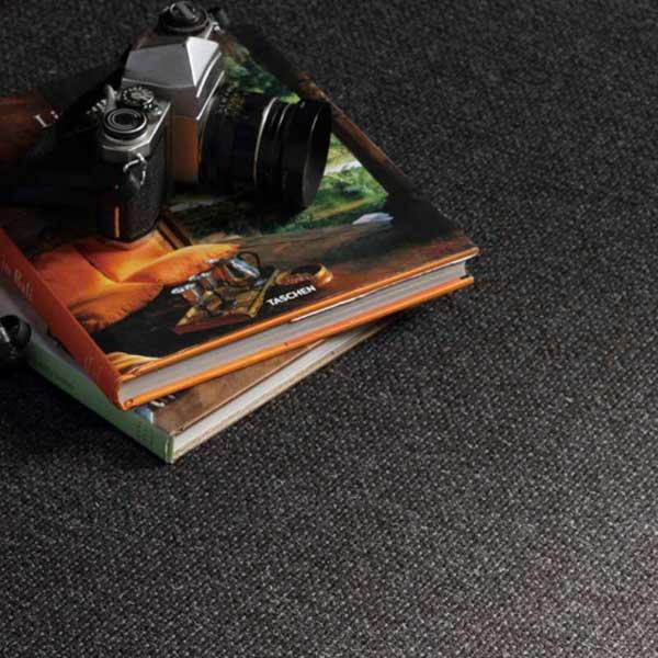 川島織物セルコン 高級オーダーカーペット KWF919 円形ラバーフィニッシュ加工