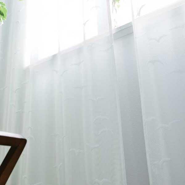 【スーパーSALE】アスワン YESカーテン 価格 交渉 送料無料 Finlayson BB7715 カーテン レース お仕立て上り約2倍ヒダ