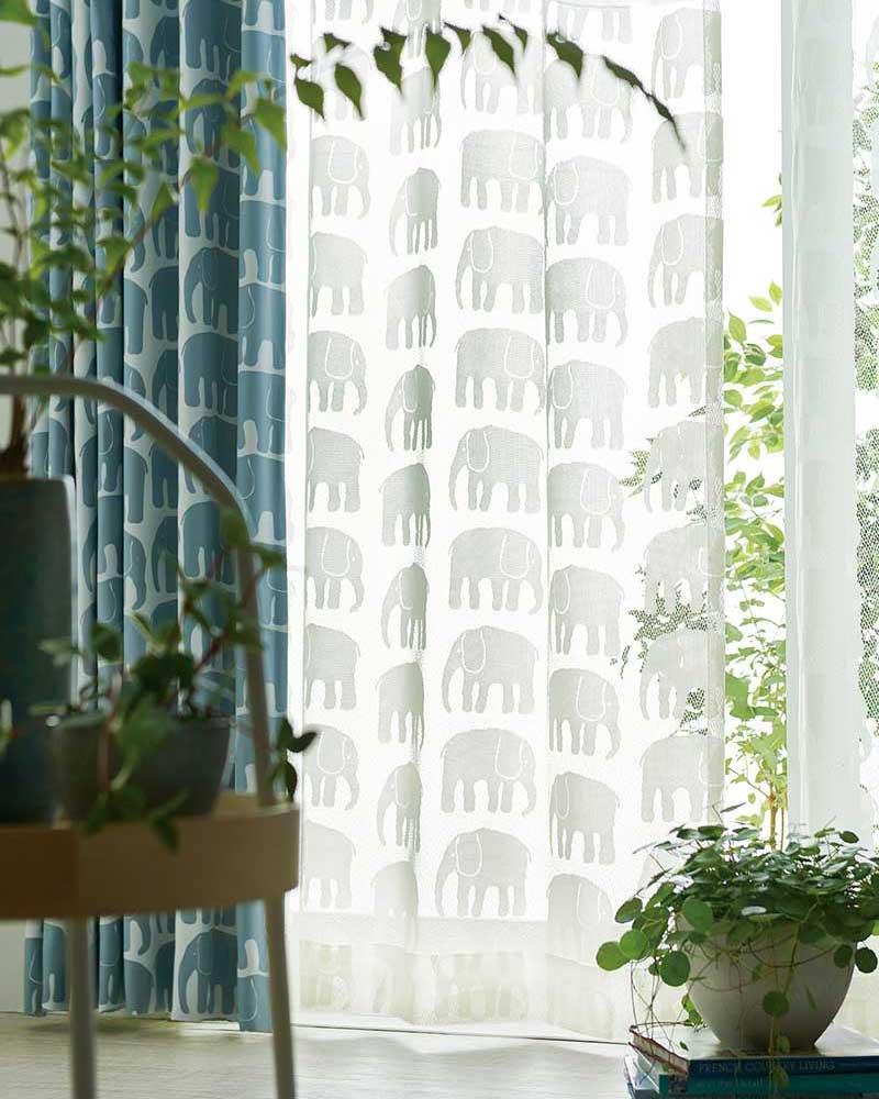 【スーパーSALE】カーテン アスワン YESカーテン K0204 ハイグレード縫製 約1.5倍ヒダ