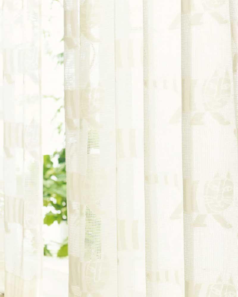 【送料無料】カーテン プレーンシェード アスワン YESカーテン K0229 ハイグレード縫製 約1.5倍ヒダ
