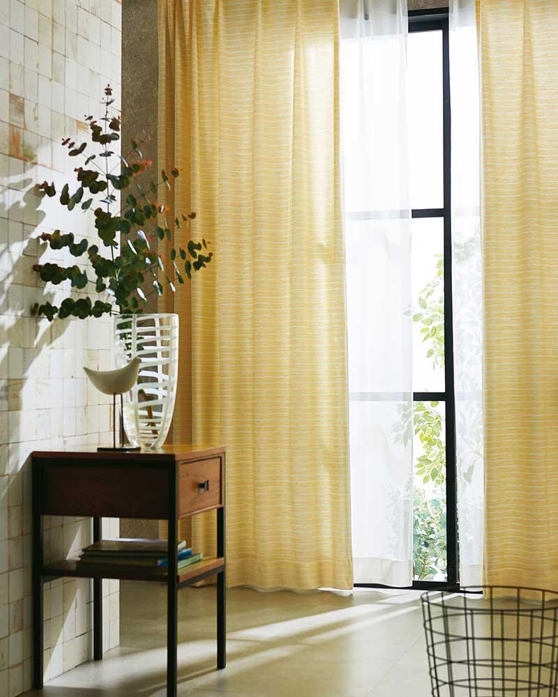 カーテン プレーンシェード アスワン YESカーテン R0072~R0075 スタイリッシュウエーブ縫製 約2倍ヒダ