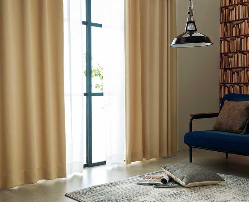 【スーパーSALE】カーテン アスワン YESカーテン R0122~R0125 ハイグレード縫製 約2倍ヒダ
