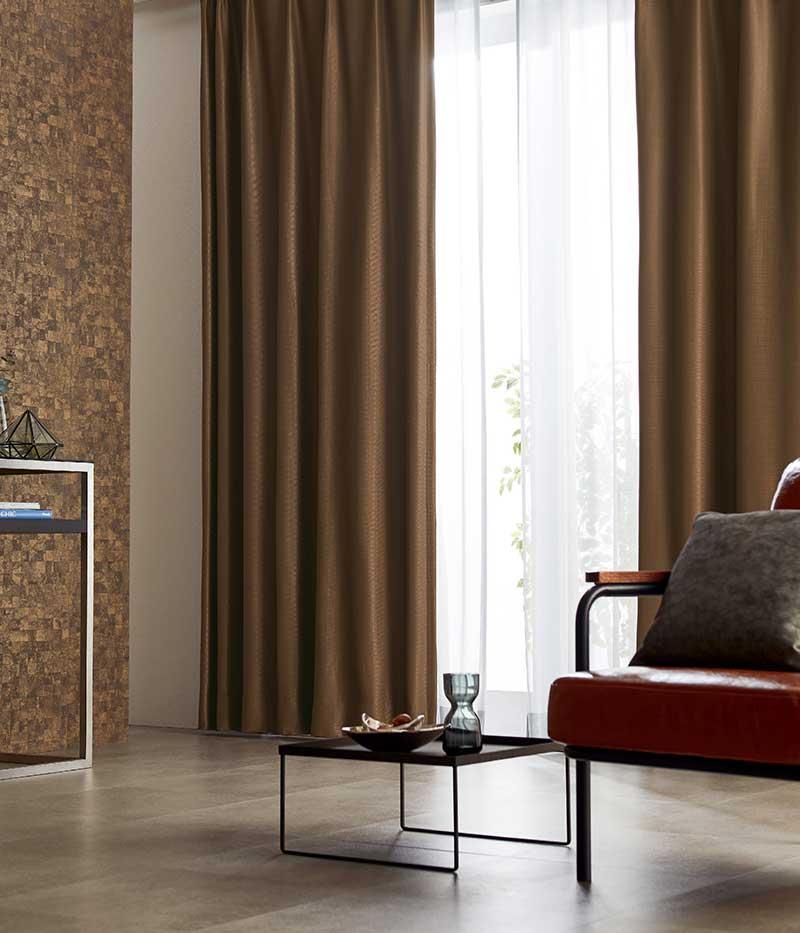 カーテン プレーンシェード アスワン YESカーテン R0126~R0127 ハイグレード縫製 約2倍ヒダ