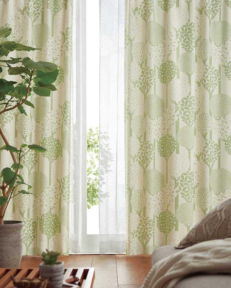 【送料無料】カーテン プレーンシェード アスワン YESカーテン R0130 ハイグレード縫製 約2倍ヒダ