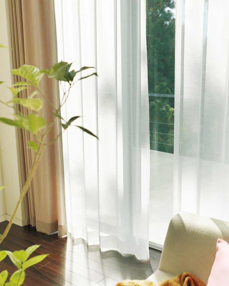 【スーパーSALE】カーテン アスワン YESカーテン R0153 ハイグレード縫製 約2倍ヒダ