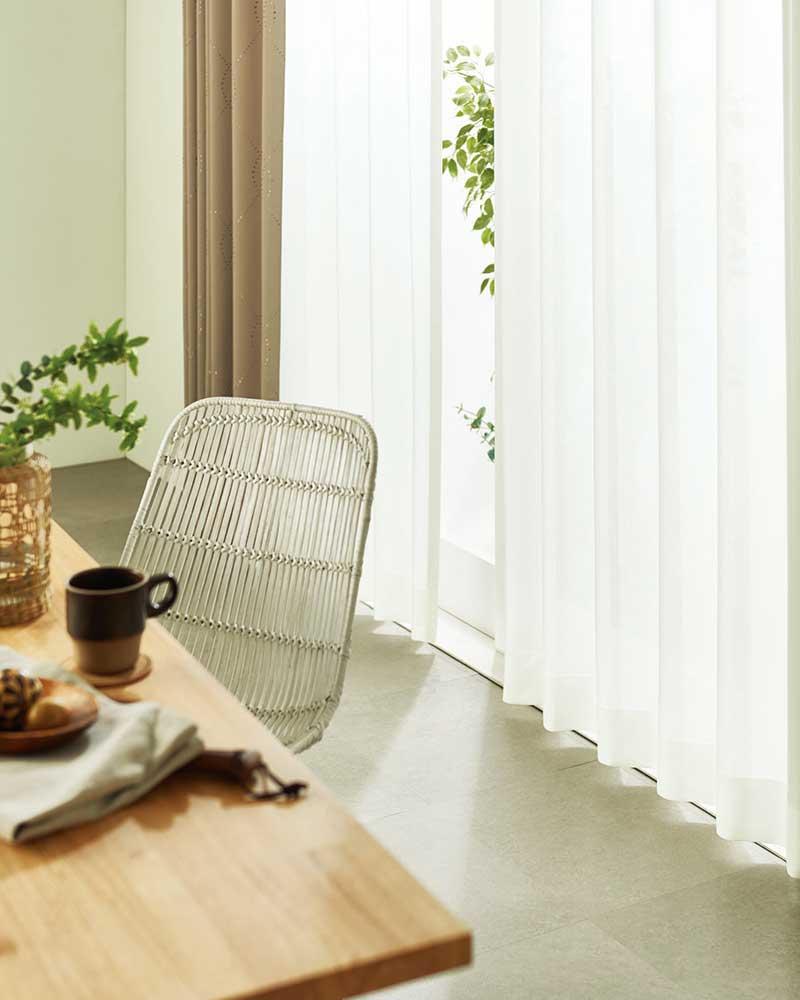 カーテン プレーンシェード アスワン YESカーテン R0159 ハイグレード縫製 約1.5倍ヒダ
