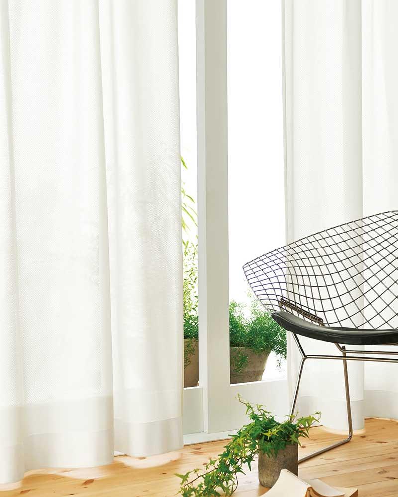 カーテン プレーンシェード アスワン YESカーテン R0160 ハイグレード縫製 約2倍ヒダ