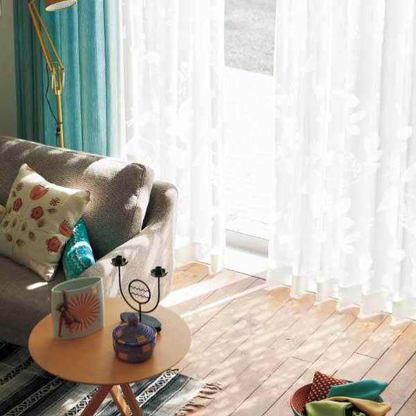 カーテン&シェード 価格 交渉 送料無料 川島セルコン オーダーカーテン !´m アイム design lace ME8429 スタンダード縫製 約2倍ヒダ