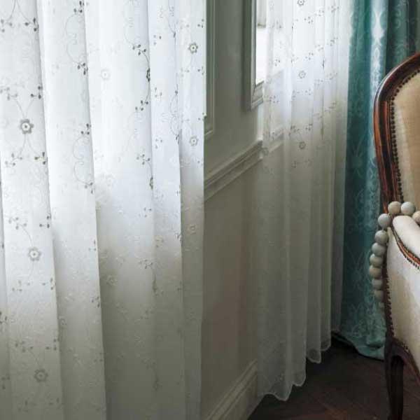 カーテン&シェード 価格 交渉 送料無料 川島セルコン オーダーカーテン !´m アイム design lace ME8456・8457 スタンダード縫製 約1.5倍ヒダ