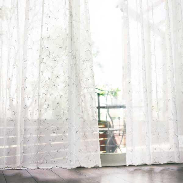 カーテン&シェード 価格 交渉 送料無料 川島セルコン オーダーカーテン !´m アイム design lace ME8459 スタンダード縫製 約1.5倍ヒダ