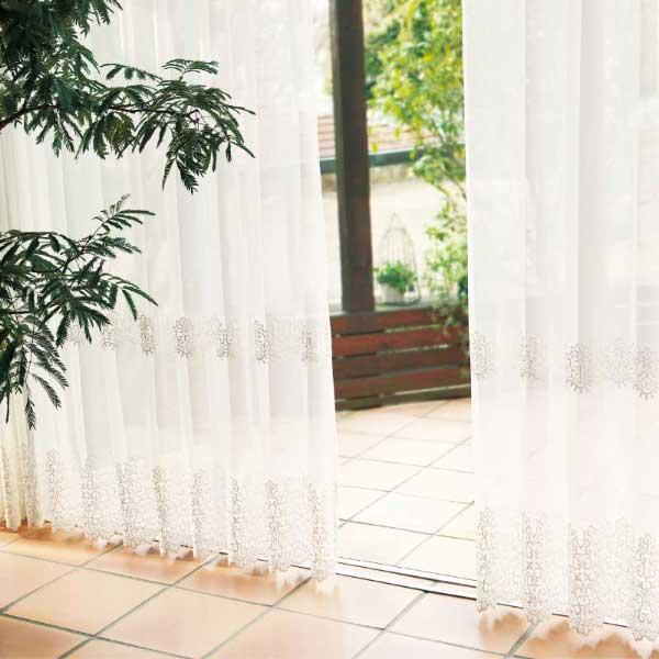 カーテン&シェード 価格 交渉 送料無料 川島セルコン オーダーカーテン !´m アイム design lace ME8460 スタンダード縫製 約1.5倍ヒダ