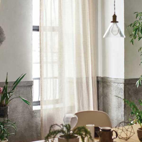 カーテン&シェード 価格 交渉 送料無料 川島セルコン オーダーカーテン !´m アイム design lace ME8491 スタンダード縫製 約2倍ヒダ