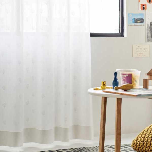 カーテン&シェード 価格 交渉 送料無料 川島セルコン オーダーカーテン !´m アイム function lace ME8534 スタンダード縫製 約2倍ヒダ