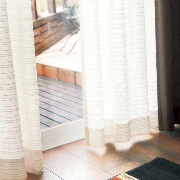 カーテン&シェード 価格 交渉 送料無料 川島セルコン オーダーカーテン !´m アイム function lace ME8559 スタンダード縫製 約1.5倍ヒダ
