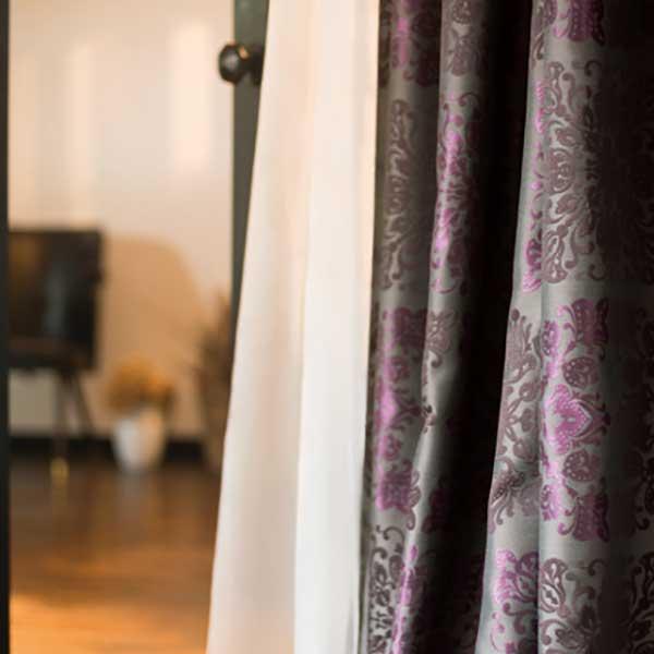 カーテン シェード 川島織物セルコン DRAPERY FT6185~6186 ソフトウェーブ縫製 約2倍ヒダ