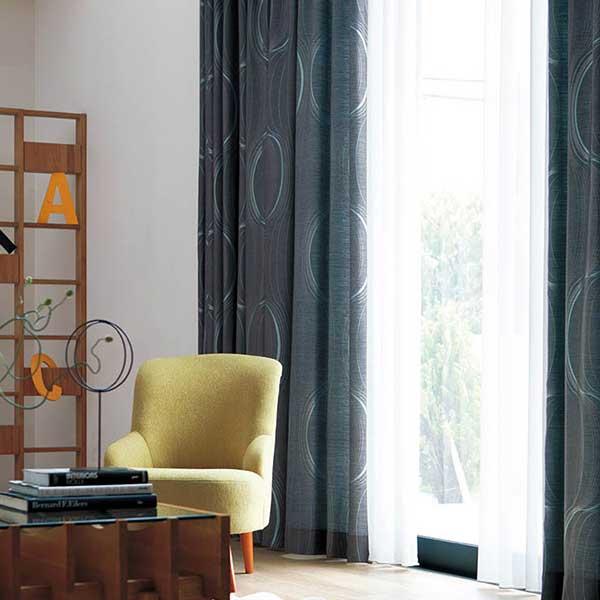 カーテン シェード 川島織物セルコン DRAPERY FT6190~6192 ソフトウェーブ縫製 約2倍ヒダ