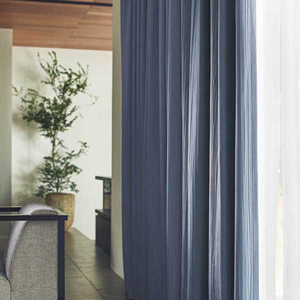 カーテン シェード 川島織物セルコン DRAPERY FT6195~6199 ソフトウェーブ縫製 約1.5倍ヒダ